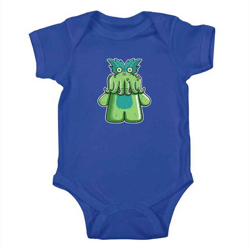 Black Friday Tickle-Me-Wiggly Kids Baby Bodysuit by Flaming Imp's Artist Shop