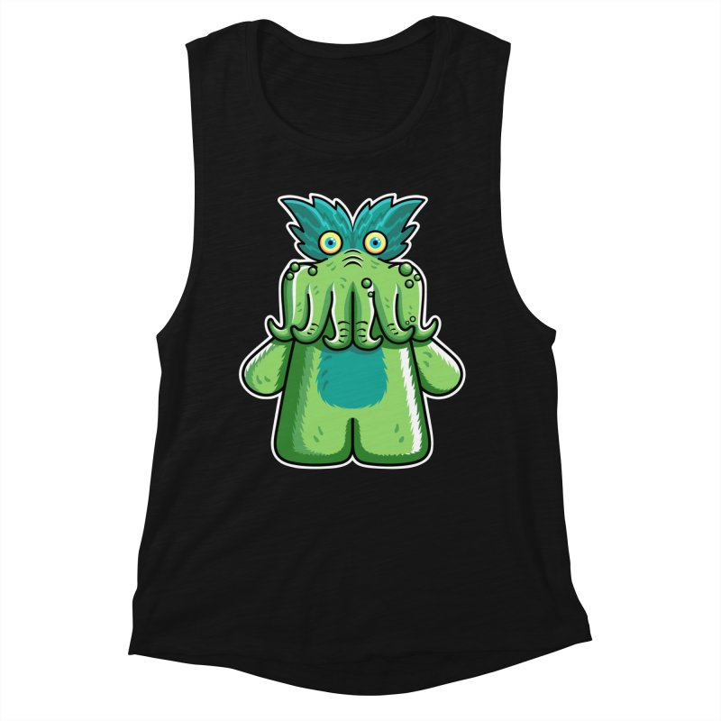Black Friday Tickle-Me-Wiggly Women's Muscle Tank by Flaming Imp's Artist Shop