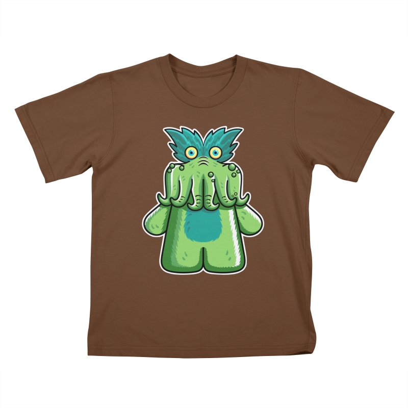 Black Friday Tickle-Me-Wiggly Kids T-Shirt by Flaming Imp's Artist Shop