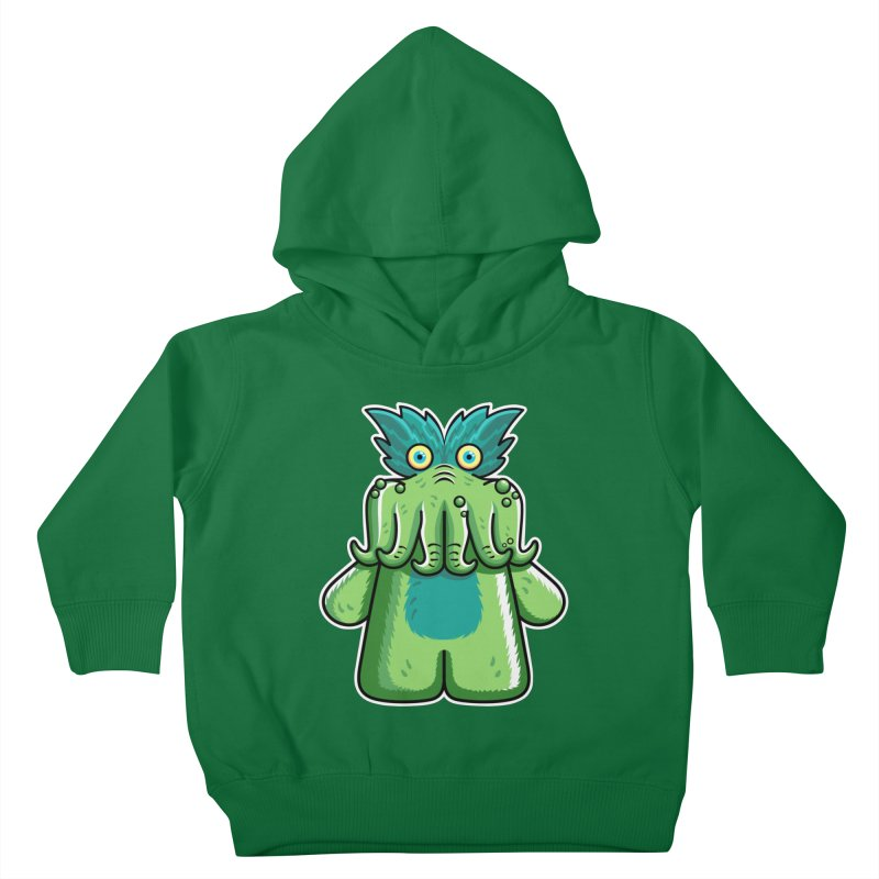 Black Friday Tickle-Me-Wiggly Kids Toddler Pullover Hoody by Flaming Imp's Artist Shop