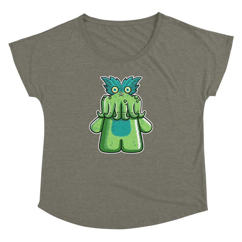 Black Friday Tickle-Me-Wiggly Women's Dolman Scoop Neck by Flaming Imp's Artist Shop