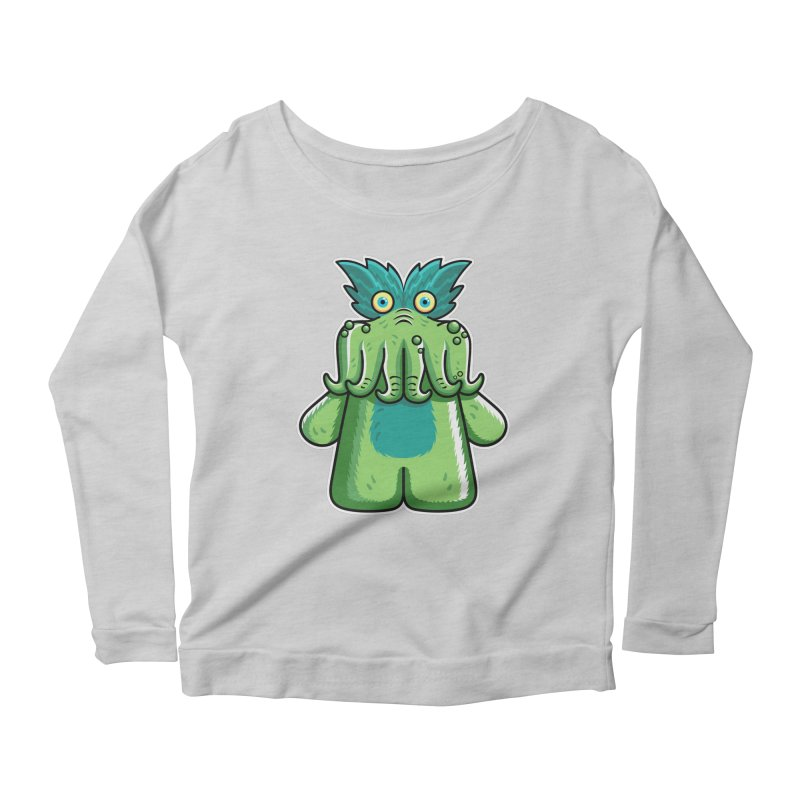 Black Friday Tickle-Me-Wiggly Women's Scoop Neck Longsleeve T-Shirt by Flaming Imp's Artist Shop