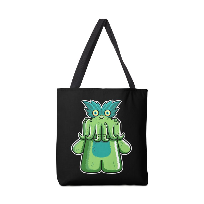 Black Friday Tickle-Me-Wiggly Accessories Tote Bag Bag by Flaming Imp's Artist Shop