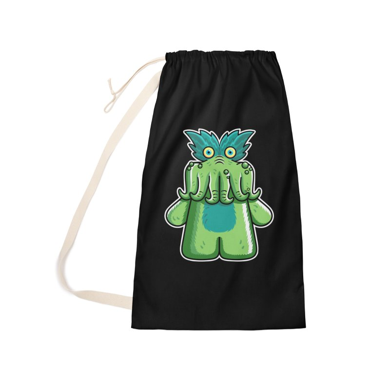 Black Friday Tickle-Me-Wiggly Accessories Laundry Bag Bag by Flaming Imp's Artist Shop