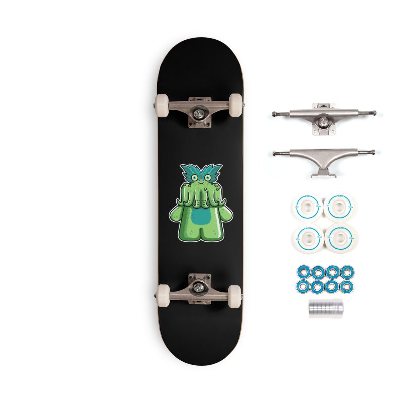 Black Friday Tickle-Me-Wiggly Accessories Complete - Basic Skateboard by Flaming Imp's Artist Shop