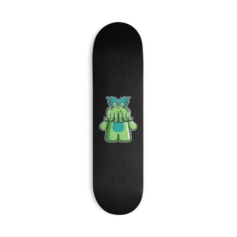 Black Friday Tickle-Me-Wiggly Accessories Deck Only Skateboard by Flaming Imp's Artist Shop