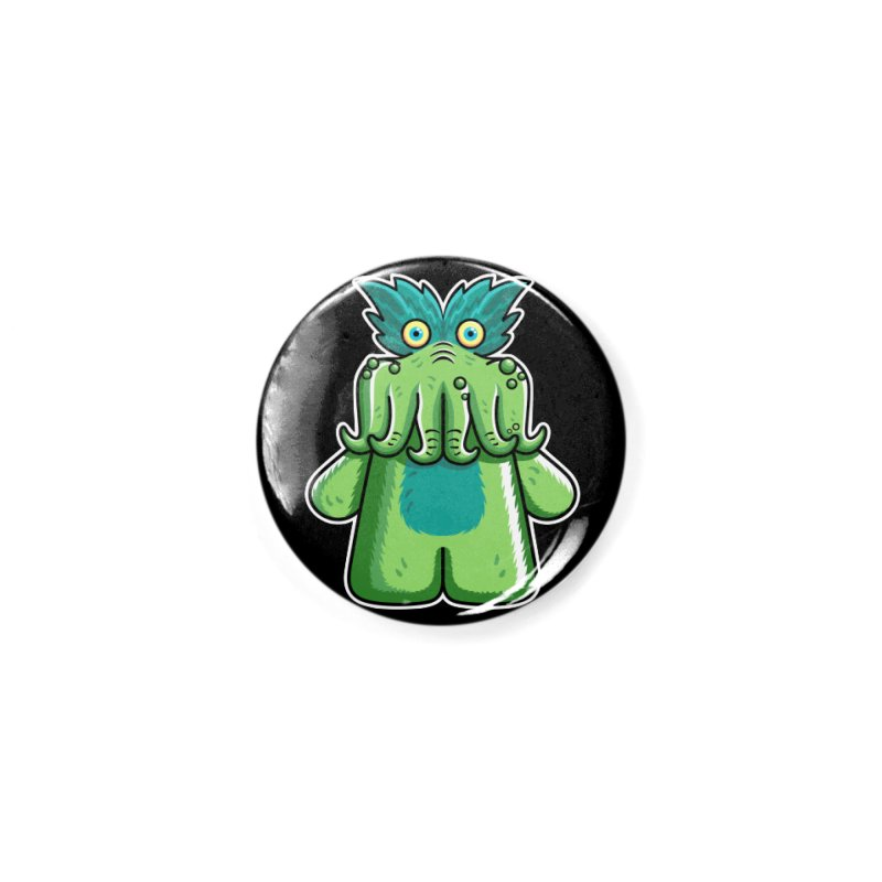 Black Friday Tickle-Me-Wiggly Accessories Button by Flaming Imp's Artist Shop