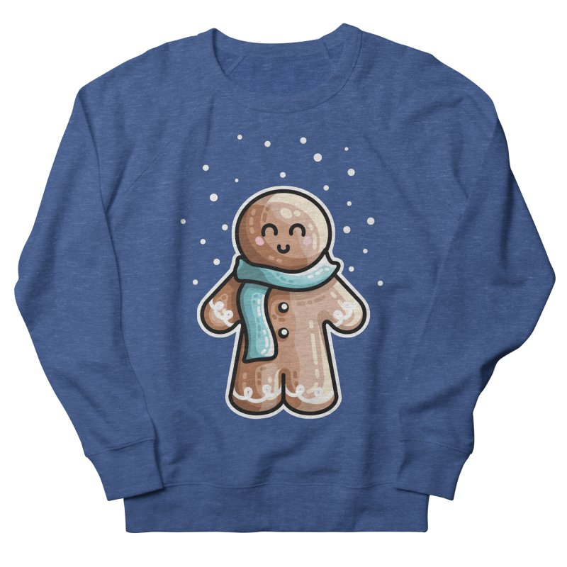 Kawaii Cute Gingerbread Person Women's French Terry Sweatshirt by Flaming Imp's Artist Shop
