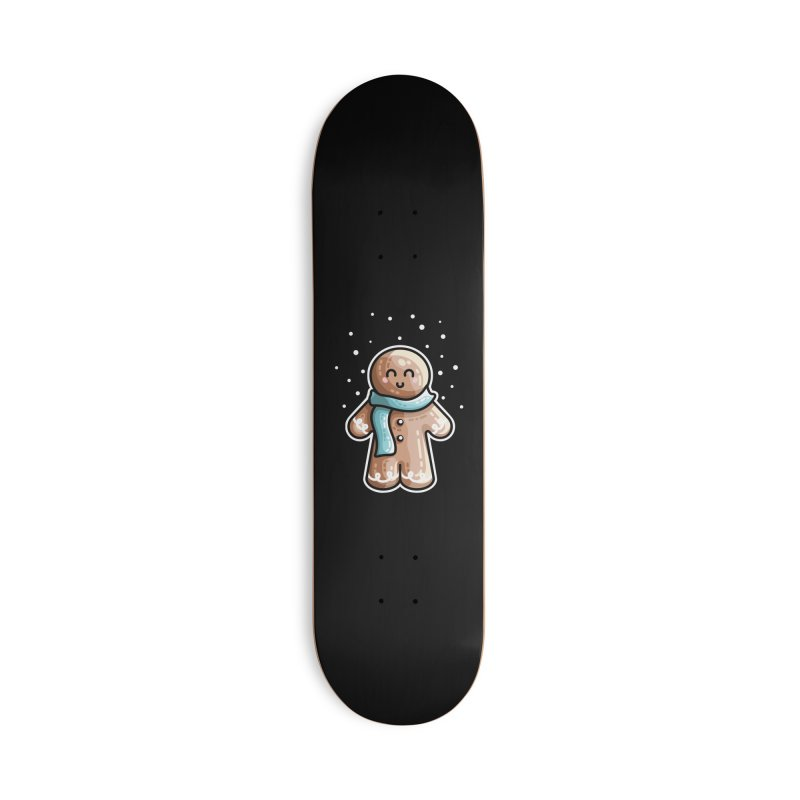 Kawaii Cute Gingerbread Person Accessories Deck Only Skateboard by Flaming Imp's Artist Shop