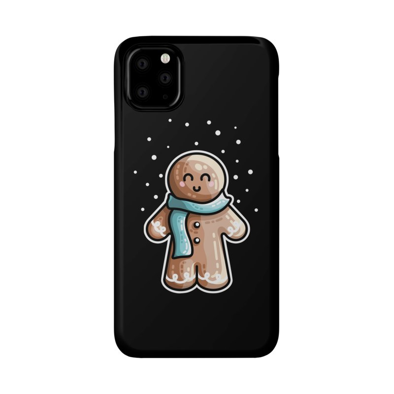 Kawaii Cute Gingerbread Person Accessories Phone Case by Flaming Imp's Artist Shop