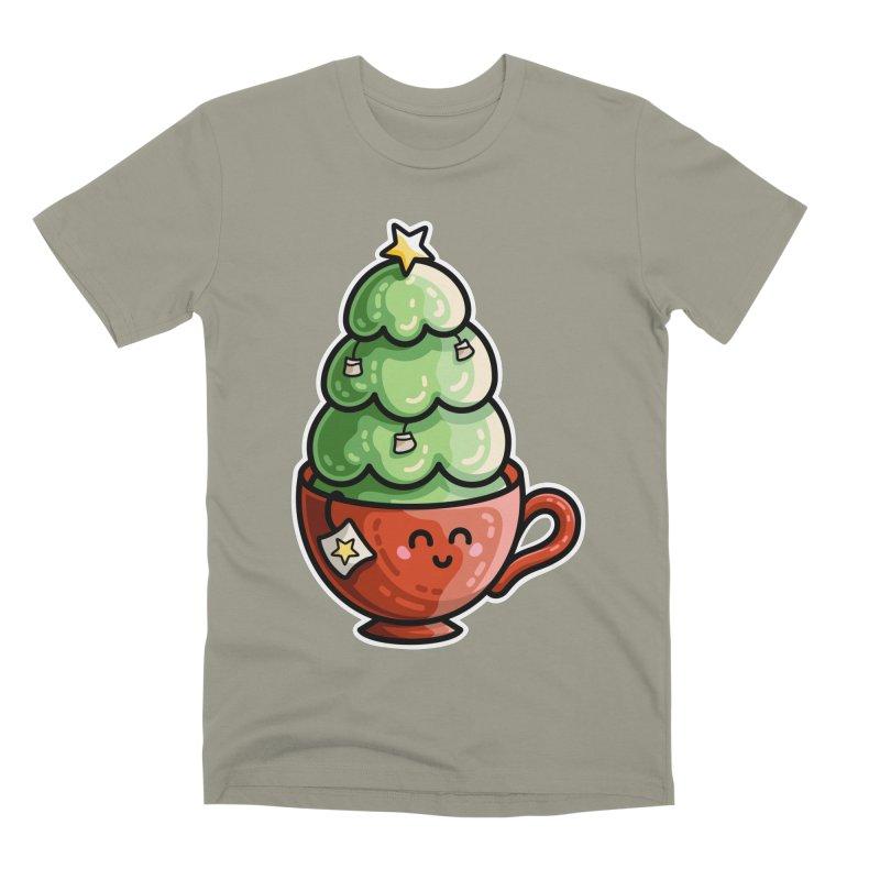 Christmas Tea Pun Men's Premium T-Shirt by Flaming Imp's Artist Shop