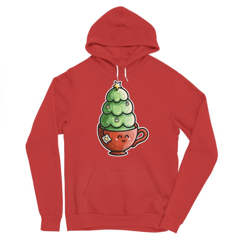 Christmas Tea Pun Men's Pullover Hoody by Flaming Imp's Artist Shop