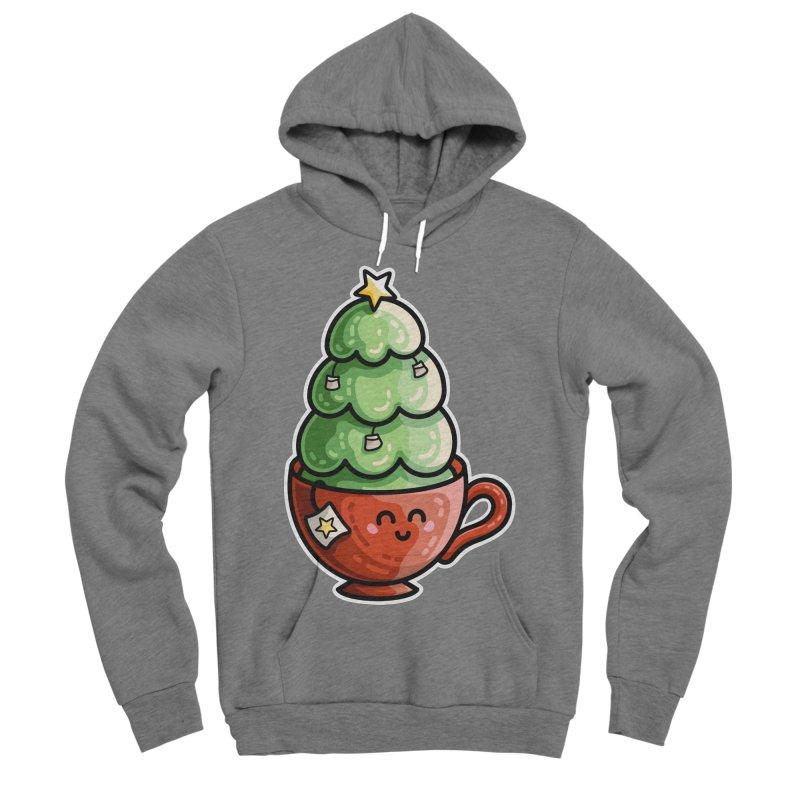 Christmas Tea Pun Women's Sponge Fleece Pullover Hoody by Flaming Imp's Artist Shop