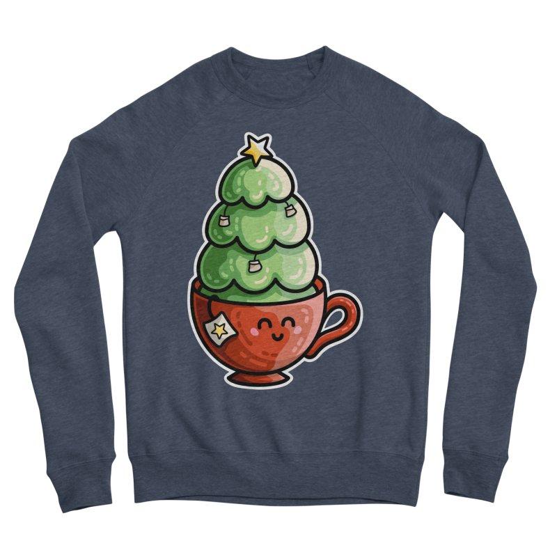Christmas Tea Pun Men's Sponge Fleece Sweatshirt by Flaming Imp's Artist Shop
