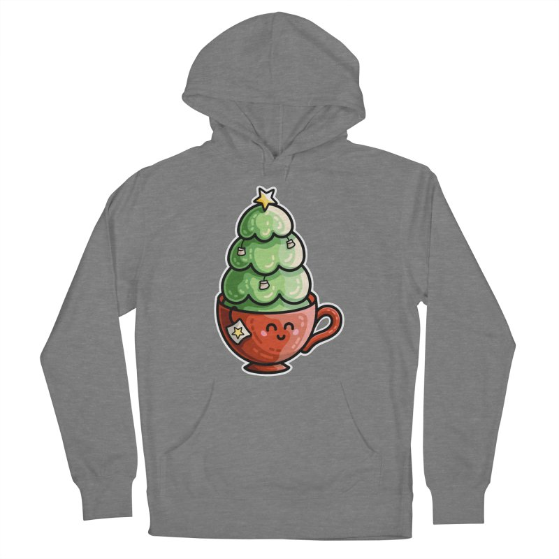 Christmas Tea Pun Women's Pullover Hoody by Flaming Imp's Artist Shop