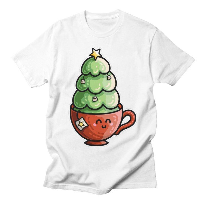 Christmas Tea Pun Men's T-Shirt by Flaming Imp's Artist Shop