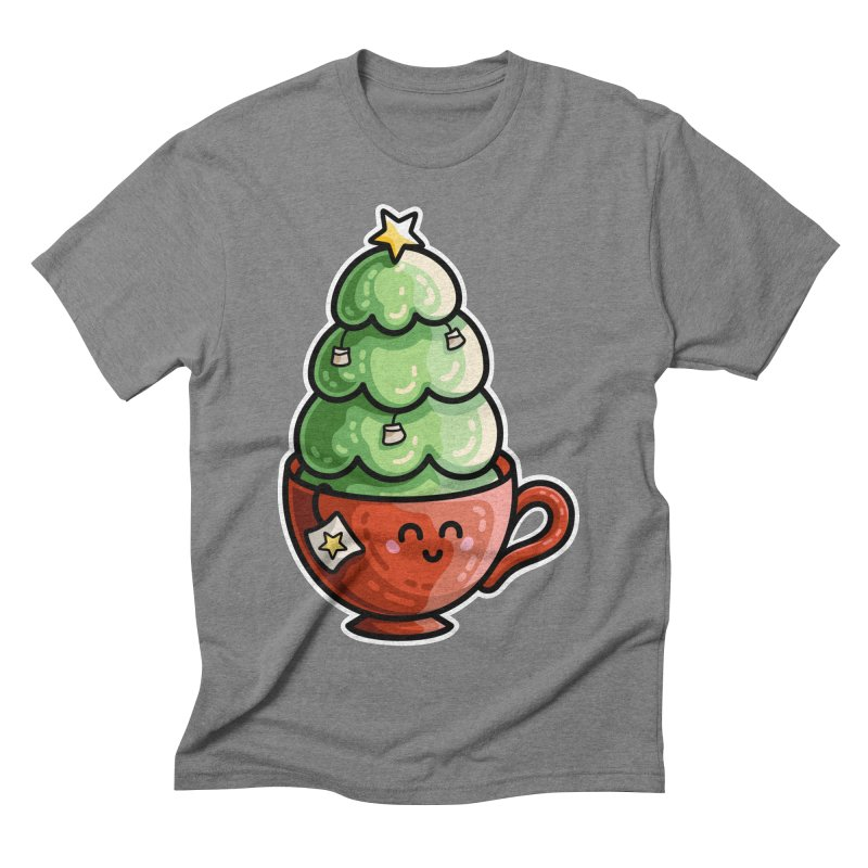 Christmas Tea Pun Men's T-Shirt by Flaming Imp's Artist Shop