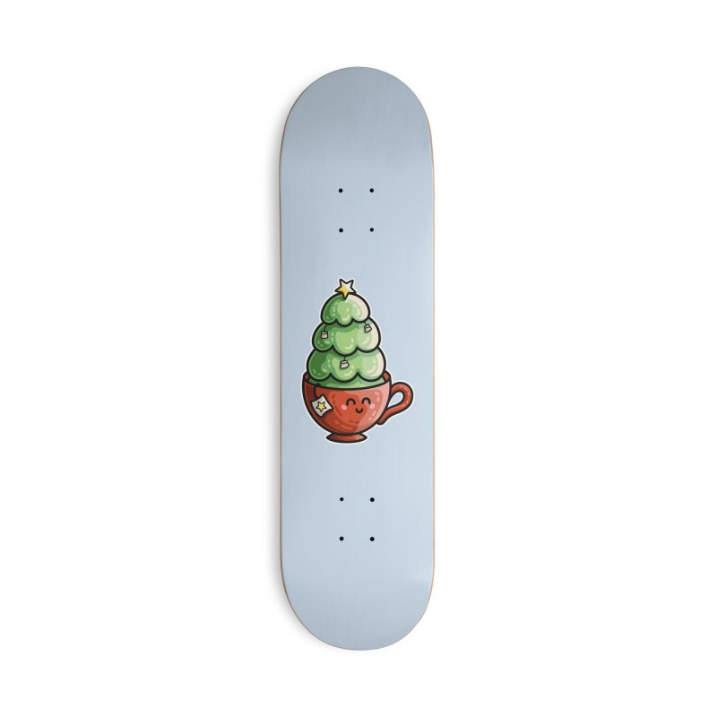 Christmas Tea Pun Accessories Skateboard by Flaming Imp's Artist Shop