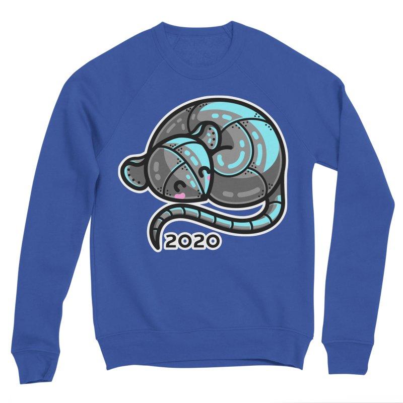 Kawaii Cute Curled Metal Rat 2020 Fitted Sweatshirt by Flaming Imp's Artist Shop