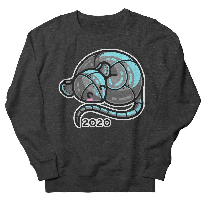 Kawaii Cute Curled Metal Rat 2020 Women's Sweatshirt by Flaming Imp's Artist Shop