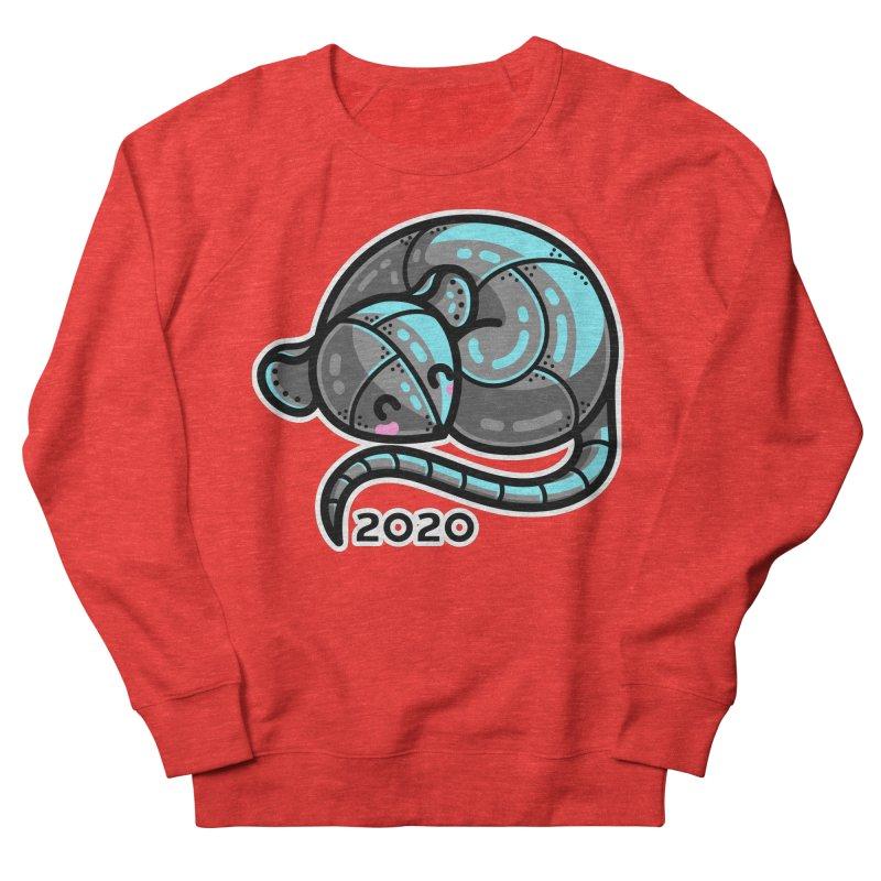 Kawaii Cute Curled Metal Rat 2020 Unisex Sweatshirt by Flaming Imp's Artist Shop