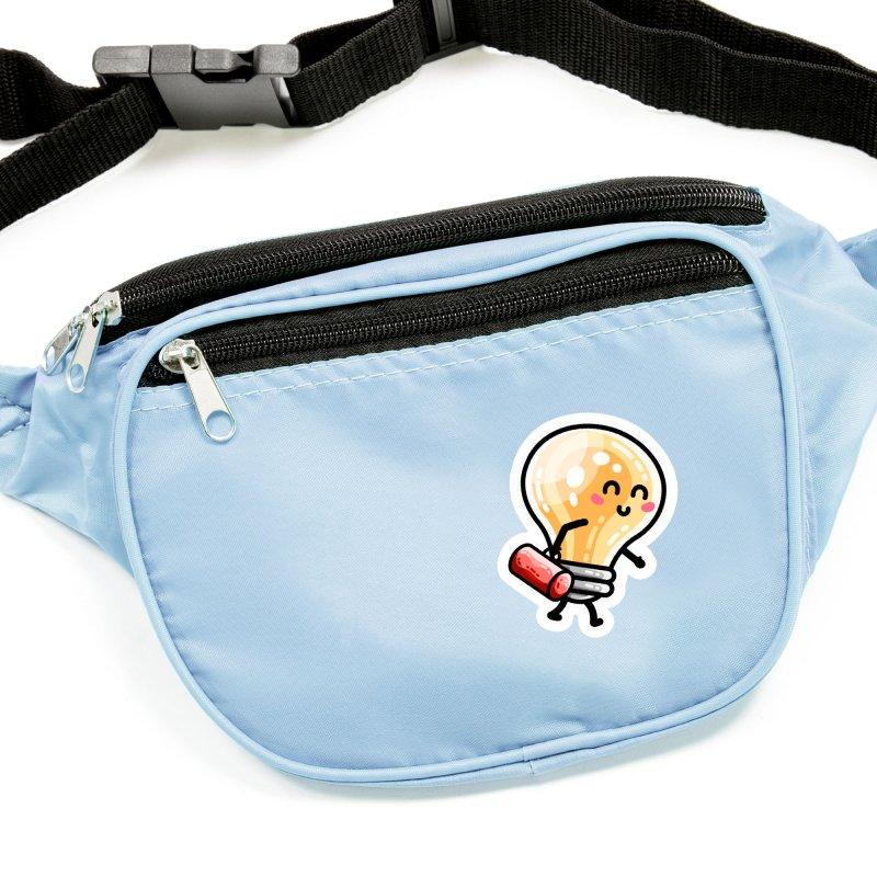 Kawaii Cute Travelling Light Pun Masks + Accessories Sticker by Flaming Imp's Artist Shop
