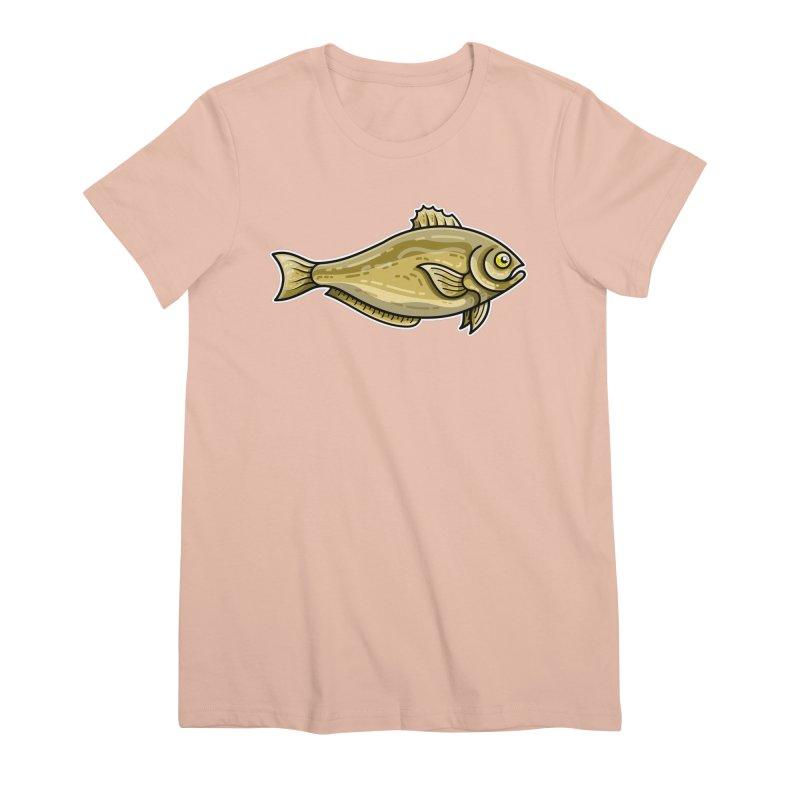 Carp Fish Women's Premium T-Shirt by Flaming Imp's Artist Shop