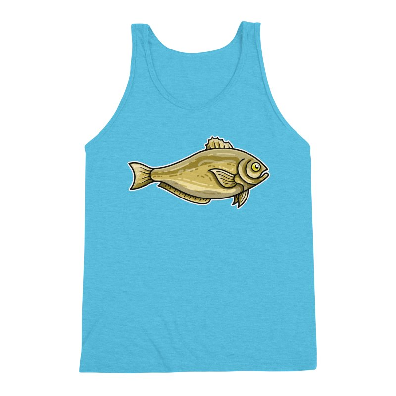 Carp Fish Men's Triblend Tank by Flaming Imp's Artist Shop