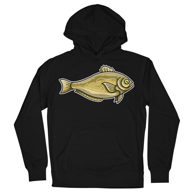 Carp Fish Women's French Terry Pullover Hoody by Flaming Imp's Artist Shop