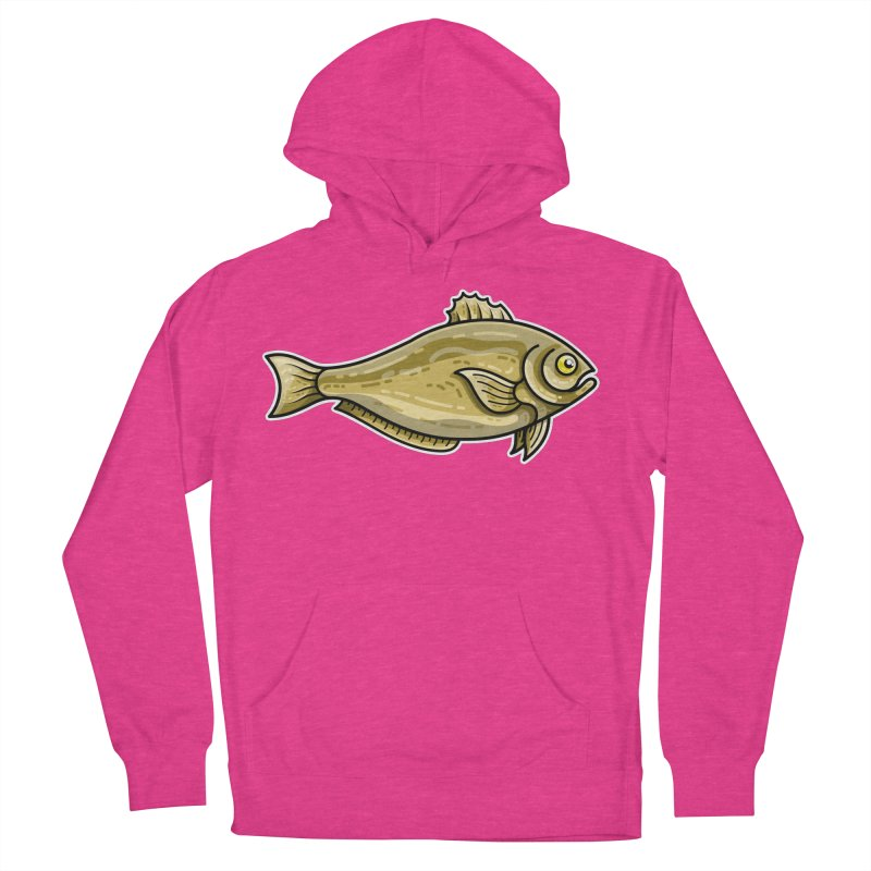 Carp Fish Men's French Terry Pullover Hoody by Flaming Imp's Artist Shop