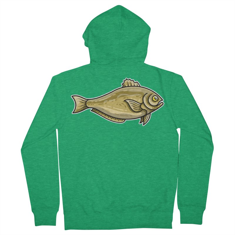 Carp Fish Women's Zip-Up Hoody by Flaming Imp's Artist Shop