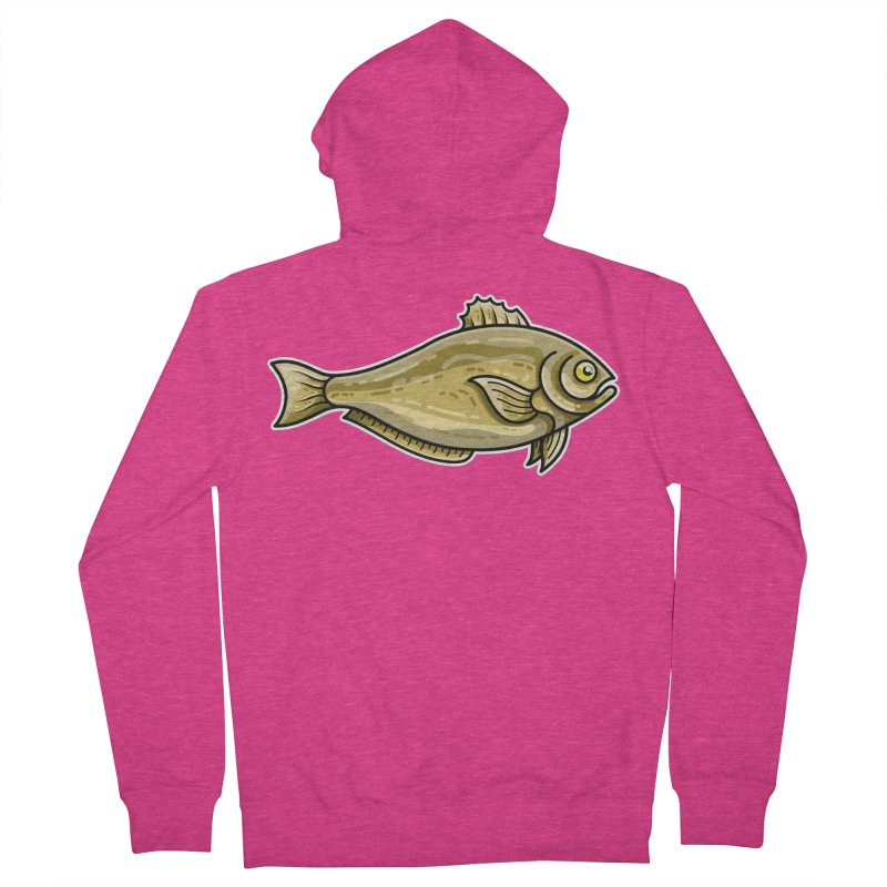 Carp Fish Women's French Terry Zip-Up Hoody by Flaming Imp's Artist Shop
