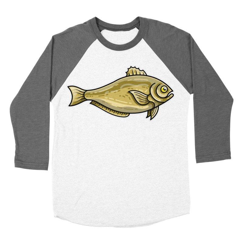 Carp Fish Men's Baseball Triblend Longsleeve T-Shirt by Flaming Imp's Artist Shop