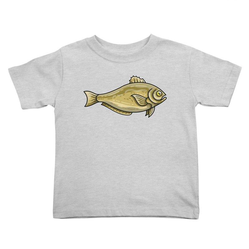 Carp Fish Kids Toddler T-Shirt by Flaming Imp's Artist Shop