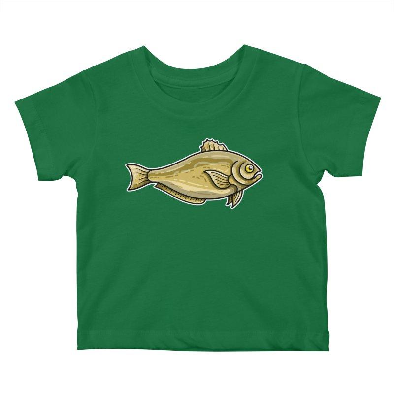 Carp Fish Kids Baby T-Shirt by Flaming Imp's Artist Shop