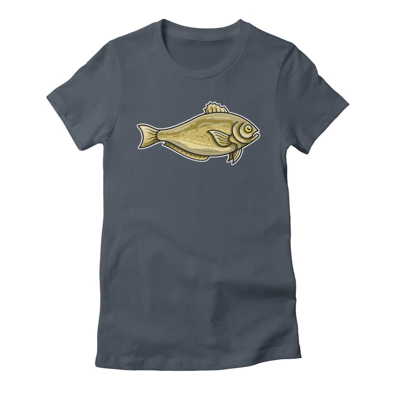 Carp Fish Fitted T-Shirt by Flaming Imp's Artist Shop