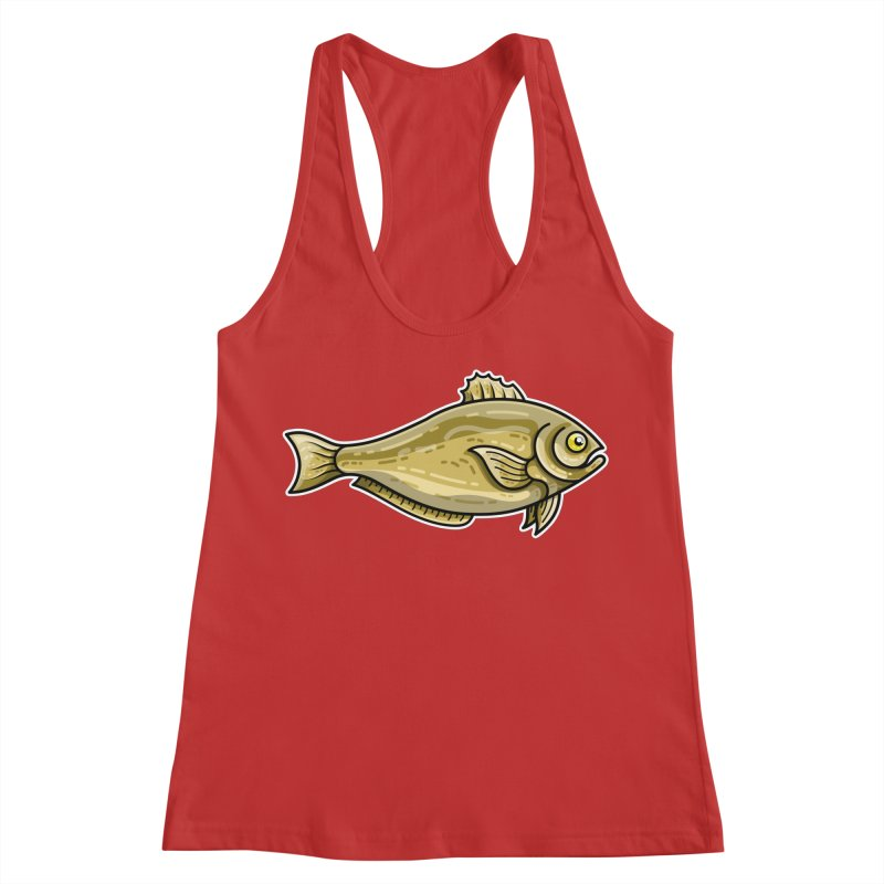 Carp Fish Women's Racerback Tank by Flaming Imp's Artist Shop