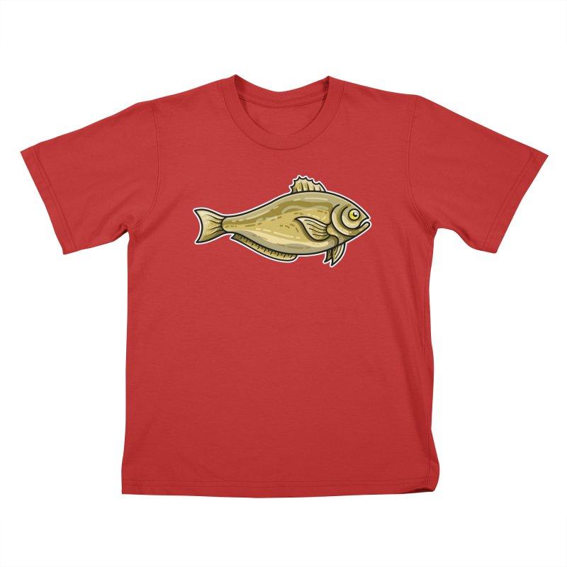 Carp Fish Kids T-Shirt by Flaming Imp's Artist Shop