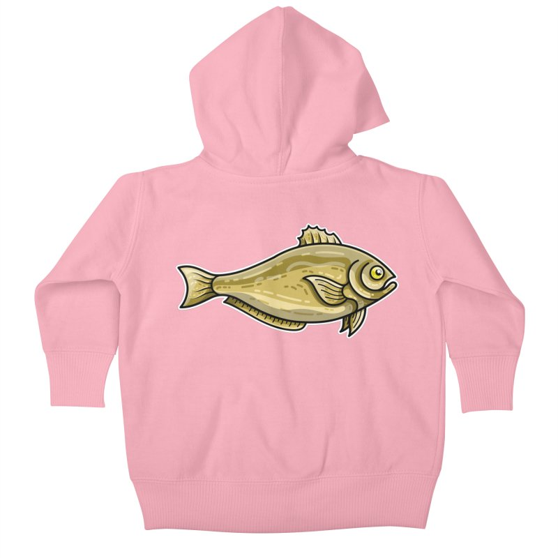 Carp Fish Kids Baby Zip-Up Hoody by Flaming Imp's Artist Shop