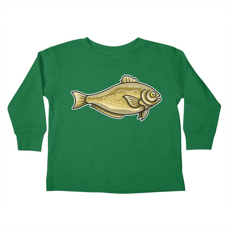 Carp Fish Kids Toddler Longsleeve T-Shirt by Flaming Imp's Artist Shop