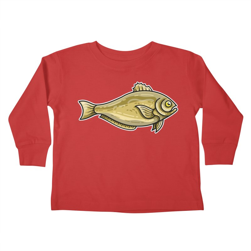 Carp Fish Kids Toddler Longsleeve T-Shirt by Flaming Imp's Artist Shop