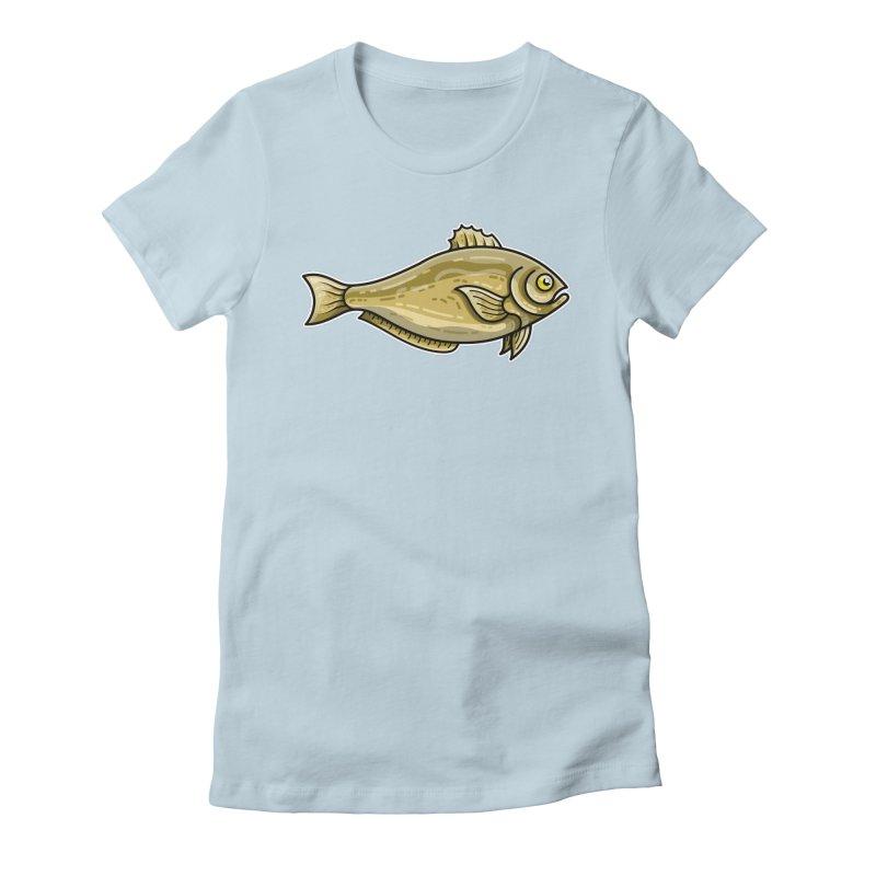 Carp Fish Women's T-Shirt by Flaming Imp's Artist Shop