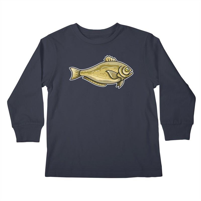 Carp Fish Kids Longsleeve T-Shirt by Flaming Imp's Artist Shop