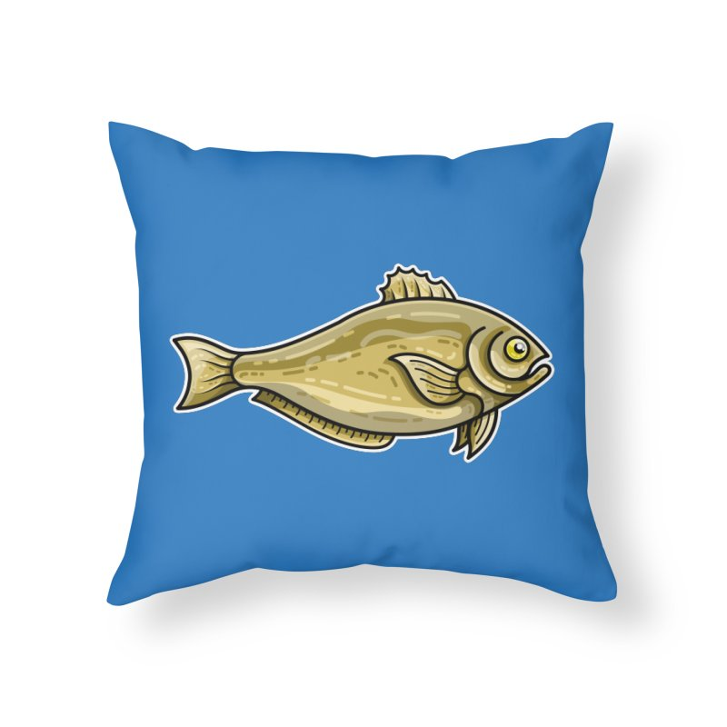 Carp Fish Home Throw Pillow by Flaming Imp's Artist Shop