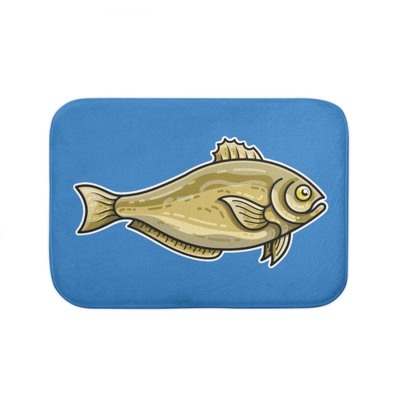 Carp Fish Home Bath Mat by Flaming Imp's Artist Shop