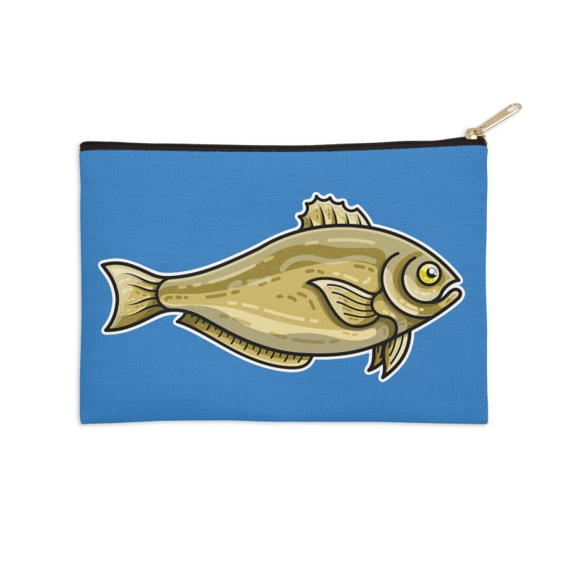 Carp Fish Accessories Zip Pouch by Flaming Imp's Artist Shop