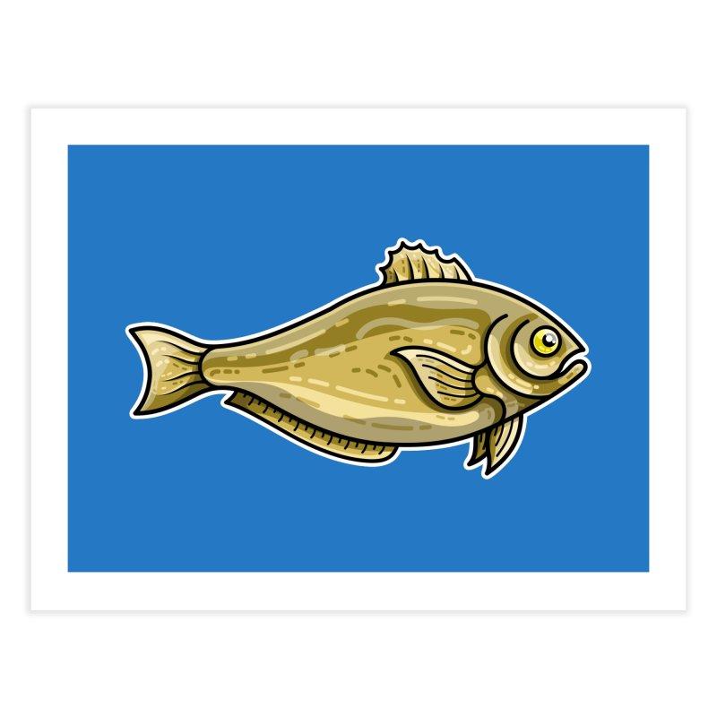 Carp Fish Home Fine Art Print by Flaming Imp's Artist Shop
