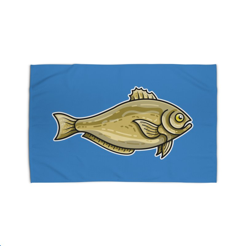 Carp Fish Home Rug by Flaming Imp's Artist Shop