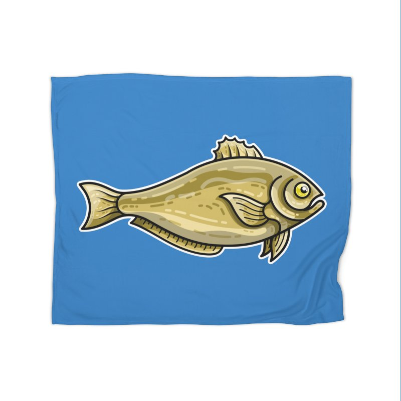 Carp Fish Home Blanket by Flaming Imp's Artist Shop