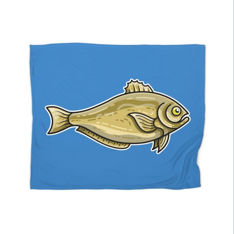 Carp Fish Home Fleece Blanket Blanket by Flaming Imp's Artist Shop